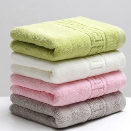 34x74 cm 100% Bawełna Chłonne Jednolity Kolor Miękkie Wygodne Top Grade Mężczyźni Kobiety Rodziny Łazienka Ręcznik