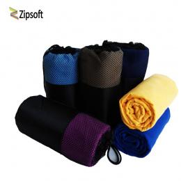 Zipsoft Sport ręcznik Plażowy ręcznik Z Mikrofibry Tkaniny Oczek Worka szybkoschnący Podróży Koc Pływanie Camping Mata Do Jogi p