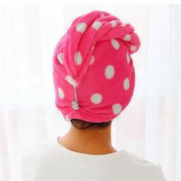 25x62 cm lady Magia Szybkie Suche Ręczniki Włosów Piękne suszenie Ręczniki Okład Głowy Kapelusz Makijaż Kosmetyki Cap Hari Ręczn