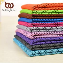 BeddingOutlet Zimno Sport Ręcznik Chłodzenia Lodu Instant Szybkie Suche Ręczniki Jogi Ręcznik 1 pc Podróży Przenośne Gym Running