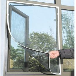 DIY Owad Mucha Mosquito Zasłony Okna Netto Mesh Ekranu Protector Flyscreen AA Na Całym Świecie 130*150 cm