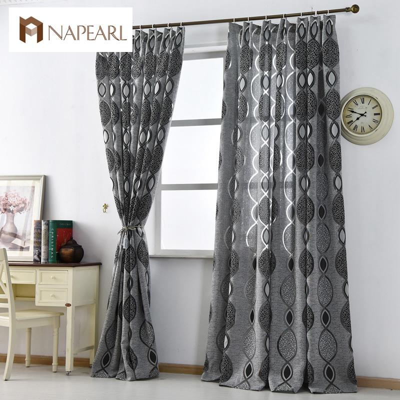 Nowoczesne Curtain Home Dekoracji Salonu Zasłony Tkaniny