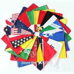 Kanada Włochy Francja Niemcy Anglia Meksyk Ameryka Flag Bawełniana Chustka Party Chusteczka Mężczyźni Chusteczka Kieszonkowy Pla