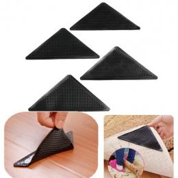 4 sztuk/zestaw Wielokrotnego Użytku Zmywalny Dywan Dywan Mat Non Slip Grippers Silicone Grip Dla Home Bath Salon