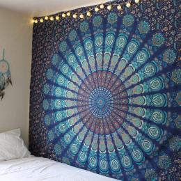 Nowy Indian Hippie Mandala Gobelin Domu Dekoracyjne Ściany Wiszące Czech Plaża Mata Mata Do Jogi Narzuta Obrus 210x148 CM