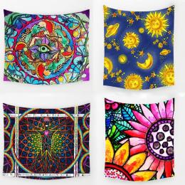 Comwarm Geometryczne Nieregularne Hippie Mandala Wzór Gobelin malarstwo abstrakcyjne Sztuki Ścianie Wisi Gobelin Livingroom Deco