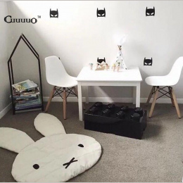 INS Bunny Rabbit Indeksowania Koc Dywan Dziecko Grać Dekoracja Pokoju Dzieci Grać Maty Dywany Maty Creeping Rozmiar 106*68 CM