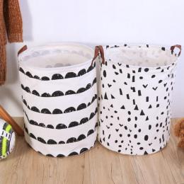 Składany Pralni Kosz Przechowywania Ubrania Worek Do Przechowywania Brudne Kosz Na Bieliznę Dzieci Zabawki Organizator Domu Prze