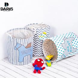 SDARISB Wodoodporna Toy Storage Bag Box Organizator Duży Kosz Na Bieliznę Torba Dzieci Przechowywania Kosz Na Zabawki Brudne Ubr