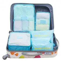 SAFEBET 6 sztuk Podróży Przenośny Worek Do Przechowywania Zestaw Mody Wodoodporna Wielofunkcyjne Buty Odzież Kosmetyki Kategorie