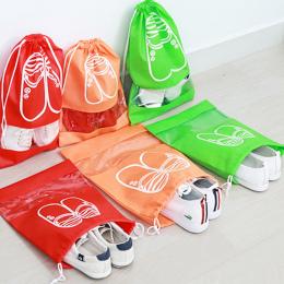 1 sztuk Włókniny Tkaniny Buty Przechowywania Torby Kobiety Mężczyźni Pyłoszczelna Pokrywa Buty Torby Podróży Portu Wiązka Buty P