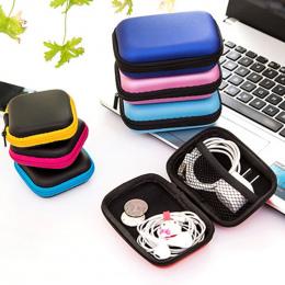 Nowe Kolorowe Słuchawki Słuchawki Kabel Słuchawek Dousznych Przechowywania Twardy Futerał Podróżny Worek Klucz Monety Torba Posi