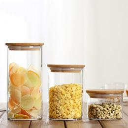 6 Rozmiar Szkła Schowek Uszczelka Pokrywy Herbata Jedzenie Kanister dla Kuchni Przypraw Słoiki Butelki Pojemniki Próżniowe Czapk