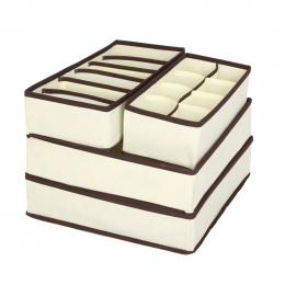 FUNIQUE 4 sztuk Pudełka Do przechowywania w Krawaty Skarpetki Szorty Bielizna Biustonosz Rozdzielacz Szuflada Powiekach Szafa Or