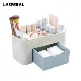 LASPERAL wielofunkcyjny Plastik Makijaż Box Biżuteria Box Rozmaitości Przechowywania Organizatorzy Kosmetyczne Z Małych Szuflady