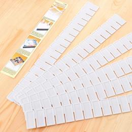 6 sztuk/zestaw Regulowany Partycji Szafka Dzielnik DIY Siatka Storage Organizator Szuflada Clapboard