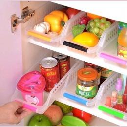 Hoomall 2 Sztuk Kuchnia Lodówka Szuflada Organizator Owoce Warzywa Jaja Kosz Picia Slajdów Plastikowe Pudełka Do Przechowywania
