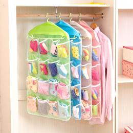 16 skarpety odzież bielizna, aby otrzymać drzwi kraty kieszeń torba na klatce piersiowej małych obiektów otrzymywać ściany torby