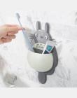 Cartoon Totoro zwierząt sucker stojak przechowywania półki łazienkowe zaopatrzenie Myjni i pasty do zębów szczoteczka do zębów d