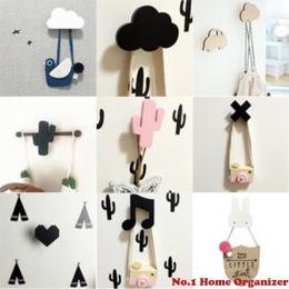 Bunny Drewniany Hak Ubrania Dla Dzieci Pokojowej Udekorować Ściany Pokoju Dziecięcego Eco Friendly Flamingo Hak Wieszak