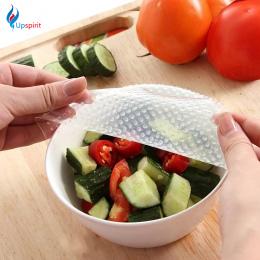 Nowy 4 sztuk Wielofunkcyjny Żywności Świeże Utrzymanie Saran Wrap Narzędzia Kuchenne Silikonowe Wielokrotnego Użytku Żywności Ok