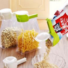 Uszczelnienie Wlać Torba Do Przechowywania Żywności Klip Przekąskę Klip Uszczelnienie Świeże Utrzymanie Uszczelniaczem Zacisk Pl
