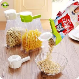 1 sztuk Househould Żywności Przekąski Przechowywania Uszczelnienie Uszczelniające Wlać Klipy Bag Sealer zacisk Blisko Klip Uszcz
