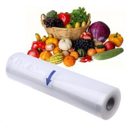 1 Rolki Saran Okład Z Vacuum Sealer Ogóle Torba Torby do Przechowywania Żywności Folia Opakowaniowa Żywności Wygaszacz Utrzymać