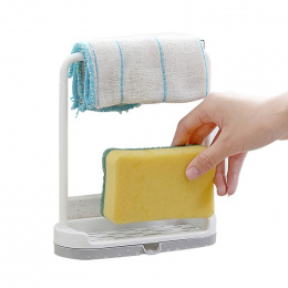 Odpinany Bar Suszenia Ręczników Kuchnia Umyć Plastikowe Odziać Uchwyt z Gąbki Tacy