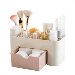 BAKINGCHEF Plastikowe Szuflady Kosmetyczne Pulpicie Okno Makijaż Schowek Biżuteria Case Home Organizator Akcesoria Eksploatacyjn