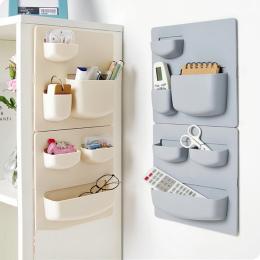 Przechowywania w domu Ściany Ssania Puchar Plastikowe Storage Rack Kosmetyczne Kosmetyki Rozmaitości Przechowywania Uchwyt Łazie