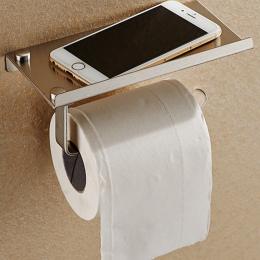 Łazienka Przechowywania Stal Stain Rolki Papieru Toaletowego Przechowywania Uchwyt Tkanki Pudełka Moblie Telefon Półka Wieszak N