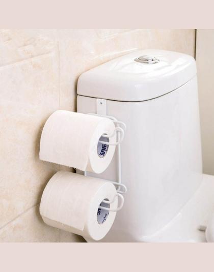 Podwójny Uchwyt Na Papier Toaletowy Ręczniki Papierowe Haki Rolki Półki łazienkowe Wiszące łazienka Kuchnia