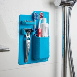Nowościach 1 sztuk Silikonowe Łazienka Organizator Mighty Szczoteczki Do Zębów Silikonowa Szczoteczka Do Zębów Uchwyt do Łazienk