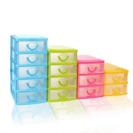 Trwała Plastikowa Mini Pulpit Szuflady Rozmaitości Przypadku Małych Obiektów Wymienny Dzielniki Oszczędność Miejsca Domu Gardero