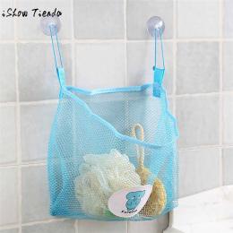 Dziecko Dzieci Bath Time Oczek Worka Łazienka Organizator Tidy Przechowywania Zabawek Przyssawka myjka Netto 25x26 cm zestaw kos