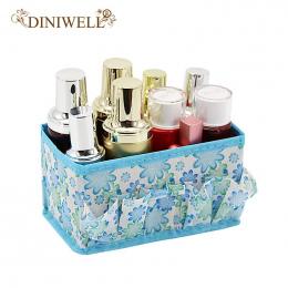 DINIWELL 5 Kolory Biuro W Domu Pulpit Wielofunkcyjne Składane Makijaż Kosmetyki Zakka Przechowywania Box Pojemnik Case Rzeczy Or