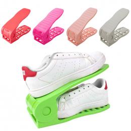 1 X Buta Przechowywania Stojak Półka Stojak Na Buty Organizator Przestrzeń Saver Plastikowy Uchwyt Wygodne Shoebox Buty Organiza