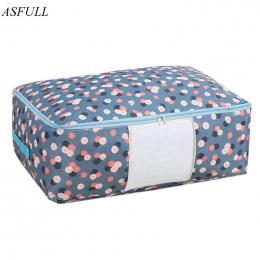 ASFULL Torby Do Przechowywania Kołdry Oxford Torby Bagażu L XL Dom Przechowywania Torby Do Przechowywania Organizator dla Wodood