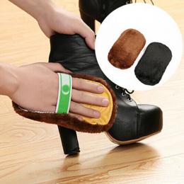 1 Sztuk Nowy Przyjazd Pielęgnacji Obuwia Szczotki Miękkie Wełny Rękawice Plush Shoe Buty Torebki Zamszowe Buty Mitt Czyszczenia
