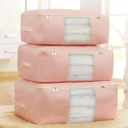 1 sztuk Odzież Szafa Organizator Torba Ubrania Kołdra Koc Closet Box Bag Domu Składany Organizacja Storage Mycia wilgoć