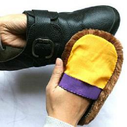5 X Miękkie Wełny Polerowanie Buty Czyste Rękawice Do Czyszczenia Szczotki Do Pielęgnacji Obuwia Domu #33521