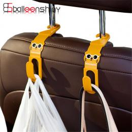 BalleenShiny 2 Sztuk/partia Śliczne Tylnym siedzeniu samochodu Akcesoria Samochodowe Rozmaitości Przechowywania Wieszak Hak Wies