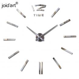 Gorąca sprzedaż duży zegar ścienny dekoracyjne zegary ścienne home decor diy zegary salon reloj naklejki ścienne