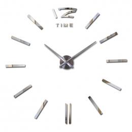 Oferta specjalna 3d big akrylowe lustro zegar ścienny krótki diy zegarek kwarcowy martwa natura zegary salon dekoracji naklejki