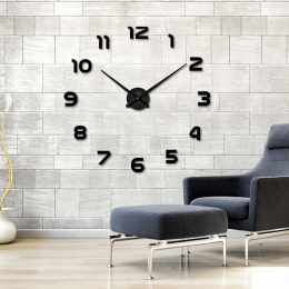 2018 Nowy Duży Zegar Ścienny Spersonalizowane Duży Zegar Ścienny 3d Diy Zegar Akrylowe Naklejki Ścienne Lustro Kwarcowe Modern H