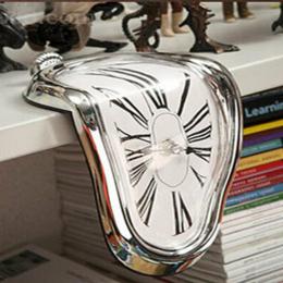 Powieść Surreal Topnienia Zniekształcony Zegar Ścienny Surrealist Salvador Dali Zegar Ścienny W Stylu Niesamowite Dekoracji Prez