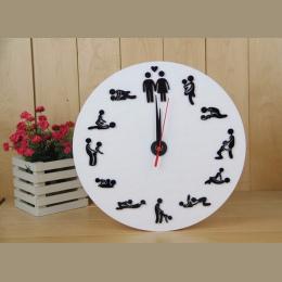 2017 New Hot Sprzedaż Kwarcowy Zegar Ścienny 3d Zegary Horloge Zegarek Salon Oddziela Okrągłe Igły Nowoczesne Akrylowe