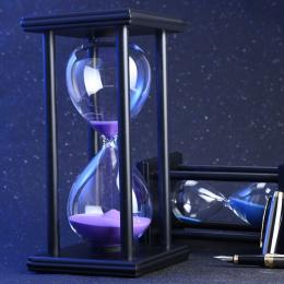 60 Minut Klepsydry Piasek Zegar Dla Kuchni Szkoła Nowoczesne Drewniane Hour Glass Klepsydra Piasek Zegar Herbaty Zegary Home Dec