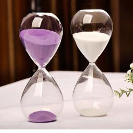 30 Minut Przezroczyste Szkło Kreatywnych Klepsydra Klepsydra Piasek Zegar Zegar Odliczający Rozrządu Walentynki Prezenty Wystrój
